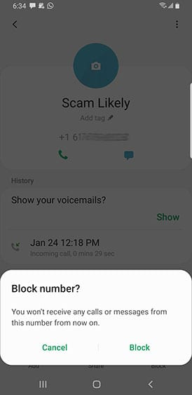 You Can Automatically Block Calls At Specific Times