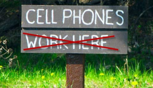 Jamming Cell Phone Signals