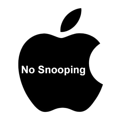 Secure iPhone No Snooping