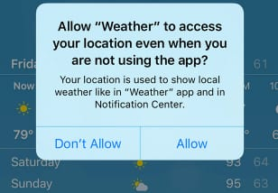 Turn On Location Services On An iPhone