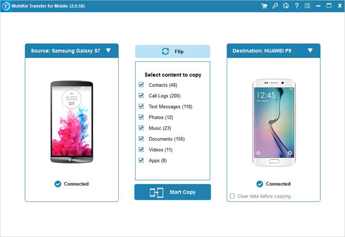Swiftly Transfer Data Between Android Phones